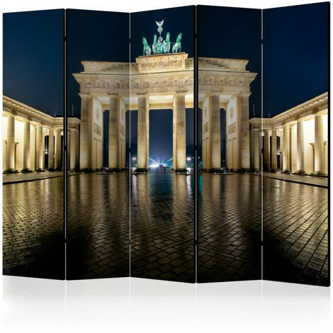 Paravent 5 volets - Berlin at Night II [Room Dividers] 225x172