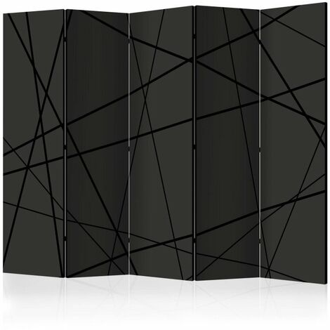 Paravent 5 volets - Dark Intersection II [Room Dividers] 225x172