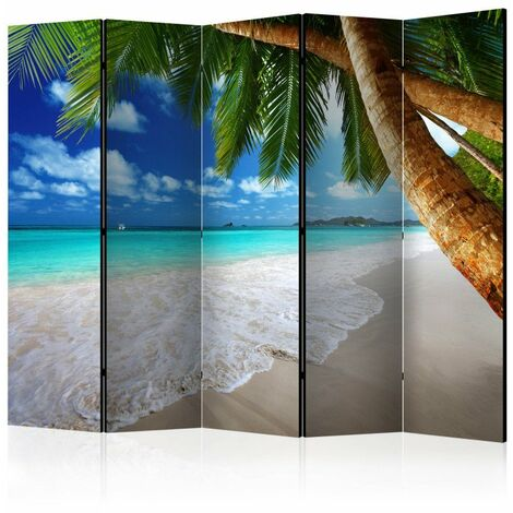Paravent 5 volets - Tropical island II [Room Dividers] 225x172