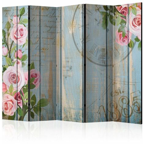 Paravent 5 volets - Vintage garden II [Room Dividers] 225x172