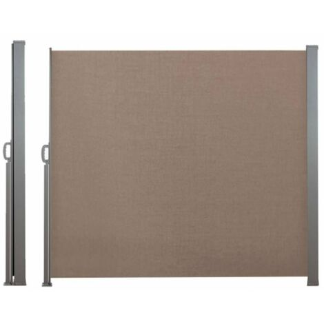 Paravent extérieur rétractable - 2,5 x 1,8 m