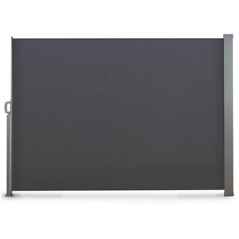 Paravent extérieur rétractable gris ou beige écru 300 x 200 cm OSE - Beige