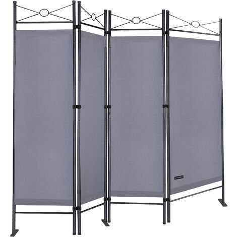 Paravent Room Divider Folding 4pcs Wall Partition Screen Privacy Seperator New