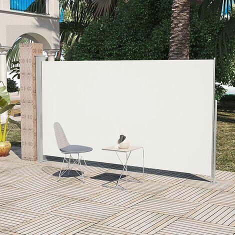 Paravent Store vertical Patio Terrasse 160 x 300 cm Couleur Crème