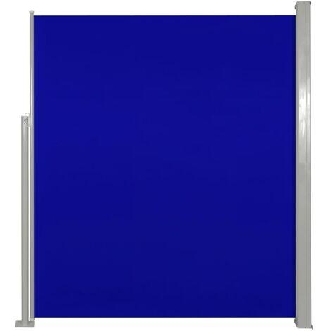 Paravent Store vertical Patio Terrasse 180 x 300 cm Bleu