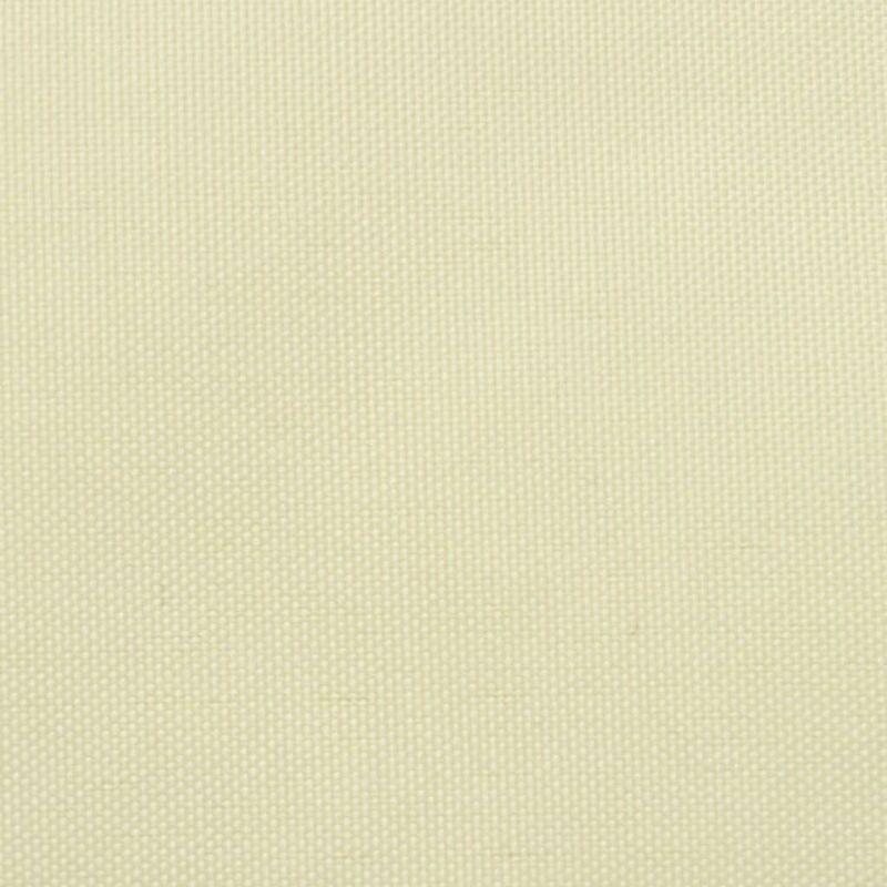 Paravento da Balcone in Tessuto Oxford 75x400 cm Crema Festnight