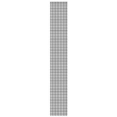 Parche adhesivo fibra de vidrio antracita 5x100cm para mosquitera