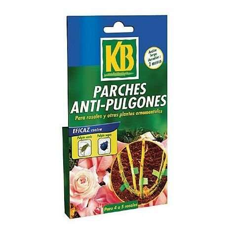 PARCHES ANTIPULGONES 5X4 UN. 34931