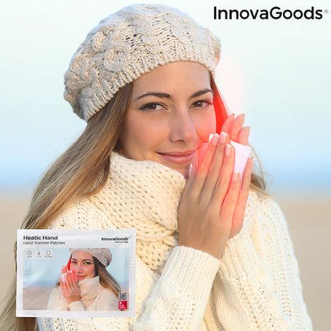 Parches Calentadores De Manos Heatic Hand Innovagoods (pack De 10)