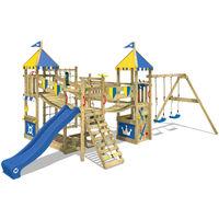 Parco Giochi WICKEY Smart Queen Torre da gioco con altalena