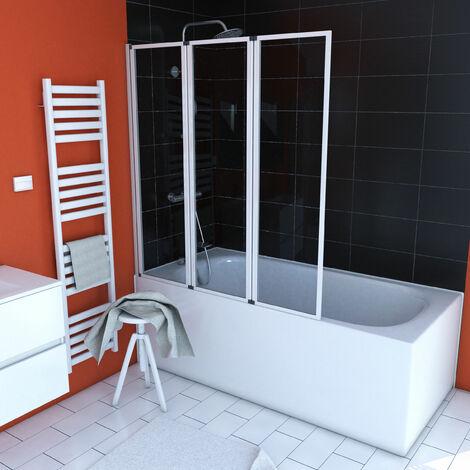Pare baignoire à 3 volets pivotants