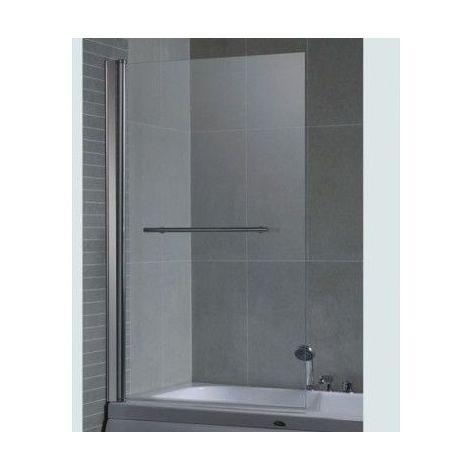 Pare baignoire PALMERA 86x140 cm - Noir