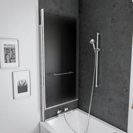 Pare baignoire relevable, paroi de baignoire anticalcaire ...