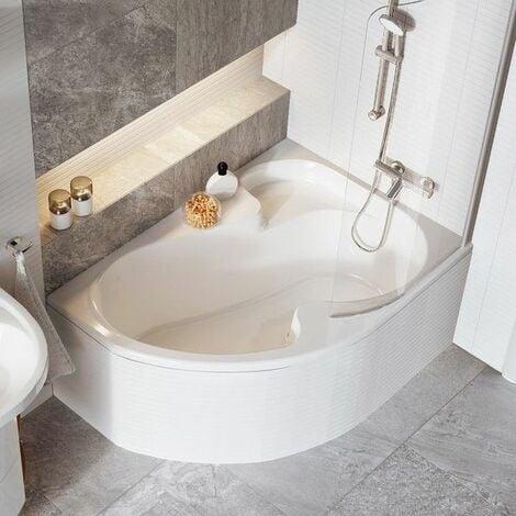 Pare-bain pour baignoire ROSA I | Gauche - 140/150 cm