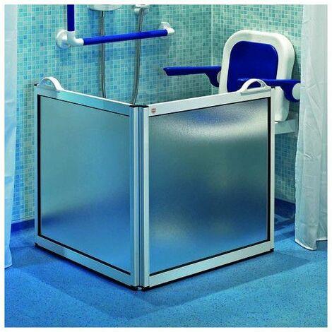 Pare-douche portable 2 panneaux - Salle de bain PMR