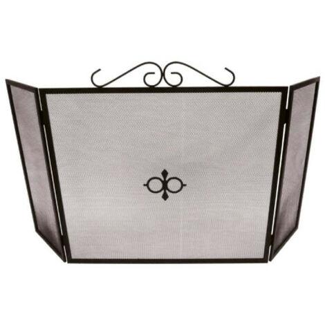 Pare-Feu de cheminée EDM - pliable - 110x60cm - 85755