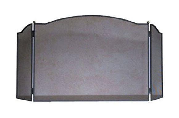 pare feu de chemin e en acier artois grand mod le. Black Bedroom Furniture Sets. Home Design Ideas
