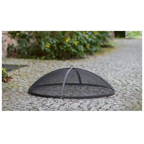 Pare-feu pour brasero en acier noir 60cm, 70cm, 80cm