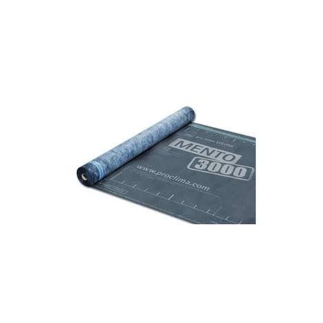 Pare-pluie Solitex Mento 3000 - 0.6mm (R : 0,17) - 0.6mm (R : 0,17) | Rouleau(x) de 75 m² - 0 épaisseur 0.6mm (R : 0,17) | 150 x 5000cm = 75m²