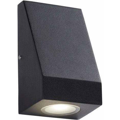 pared exterior bombilla LED de luz 1 - vidrio esmerilado