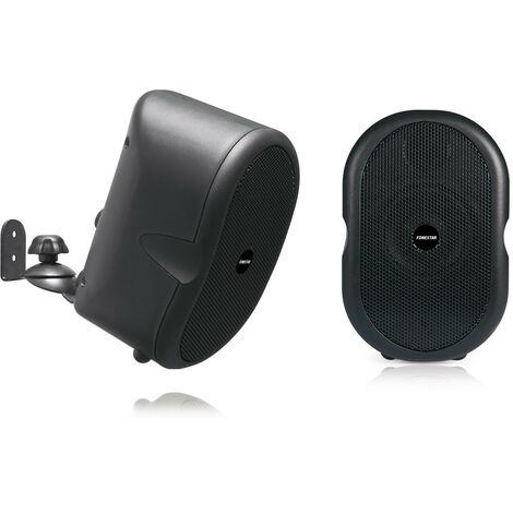 Pareja de Bafles Hi-Fi Fonestar, compactos y de baja impedancia, ideal para megafonía y sonido ambiental, 40 W