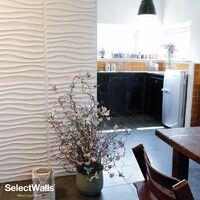 Parement Bois 3d SelectWalls Panneau 3D Niki 2,5m²