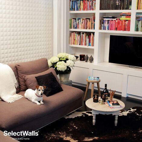 Parement Bois 3d SelectWalls Panneau 3D Senna 2,5m²