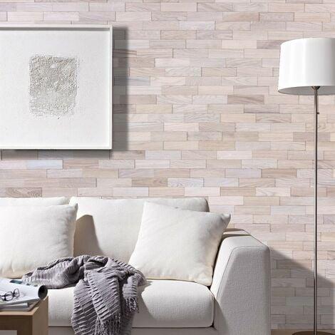 Parement Bois Chêne Artique Revêtement Mural 200mm | 1m²