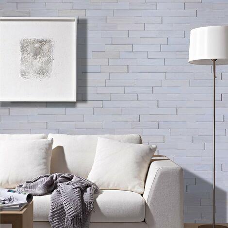 Parement Bois Chêne Gris Revêtement Mural 200mm | 1m²