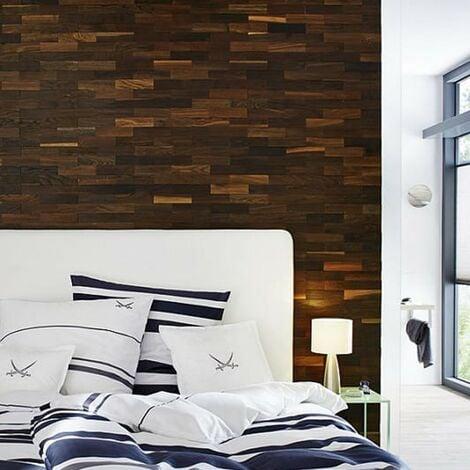 Parement Bois Taiga Revêtement Mural Bois 200mm | 1m²