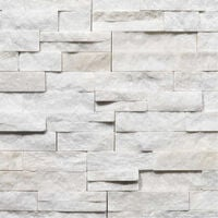 Parement Quartzite White Snow ép.2/3cm - vendu par lot de 0.522 m²
