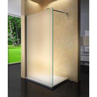 Parete doccia walk in cristallo 8mm H.195cm BERNA