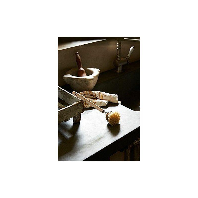 Parfait Eco Tessa Brosse Vaisselle en Tampico, bois, naturel, 7x 7x 27cm