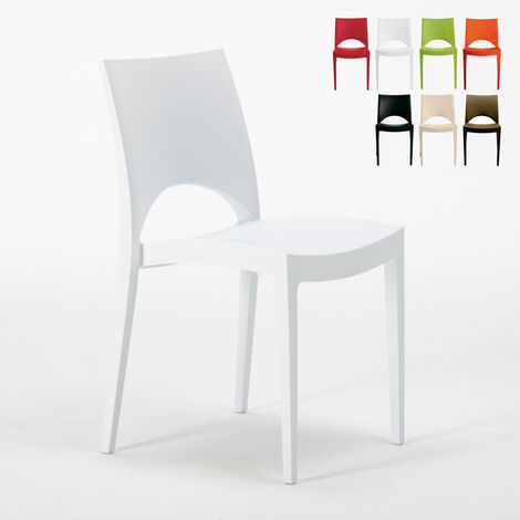 PARIS Grand Soleil Stackable Chair For Kitchen Home Bar made of Polypropylene