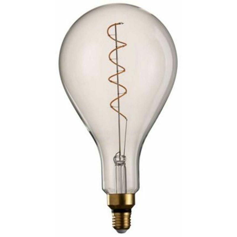 Ampoule Design spirale 30cm Transparent - Paris Prix