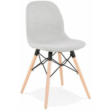 Paris Prix - Chaise Design Scandinave marlina 84cm Gris Clair