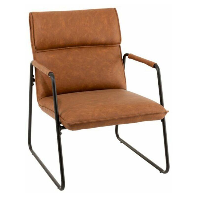 Chaise Design thomas 85cm Marron - Paris Prix