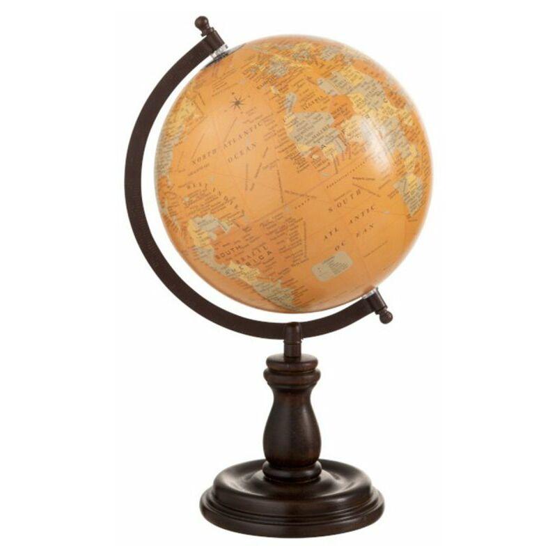 Globe terrestre sur pieds