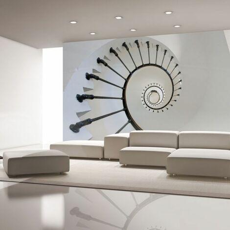 Paris Prix - Papier Peint escaliers Phare 154 X 200 Cm