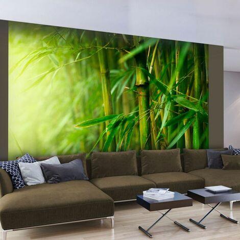 Paris Prix - Papier Peint jungle Bambou 231 X 300 Cm