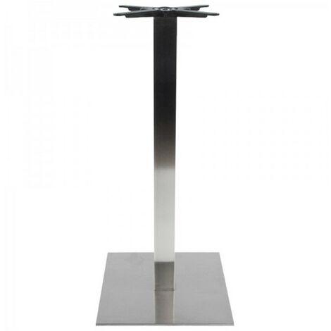 Paris Prix - Pied De Table En Acier alco 110cm Argent