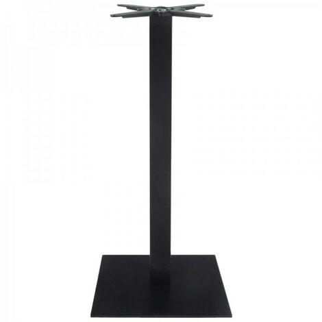 Paris Prix - Pied De Table En Métal facio 110cm Noir