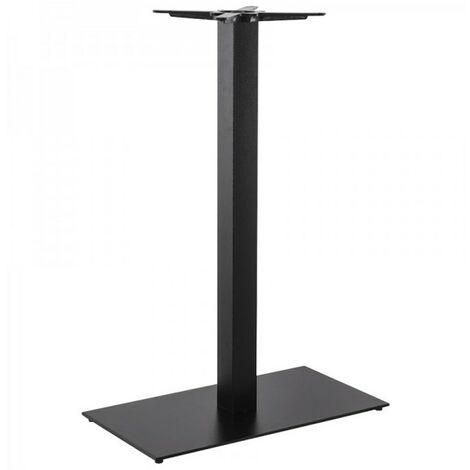 Paris Prix - Pied De Table En Métal xl 110cm Noir