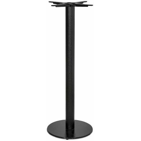 Paris Prix - Pied De Table Rond Design kirst 110cm Noir