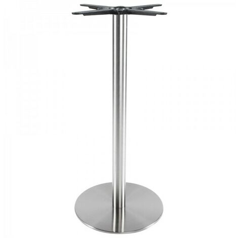 Paris Prix - Pied De Table silvo 110cm Argent