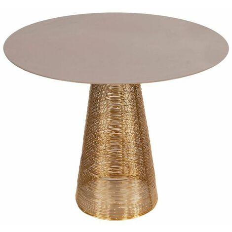 Paris Prix - Table D'appoint Design scotch 46cm Gris