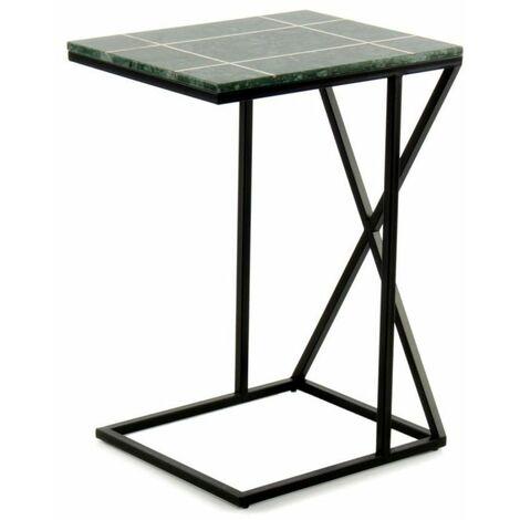 Paris Prix - Table D'appoint En Marbre louis 61cm Vert