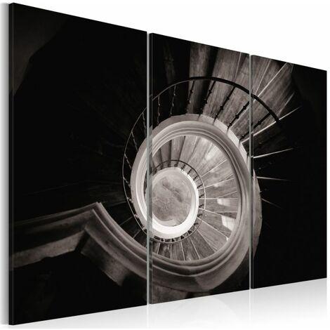 Paris Prix - Tableau Imprimé escalier En Colimaçon 40 X 60 Cm