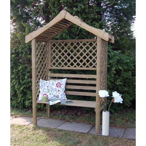 Parisienne Arbour Garden Seat