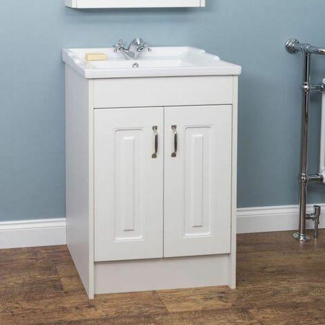 Park Lane Floor Standing Bathroom Sink Cabinet 600mm Width